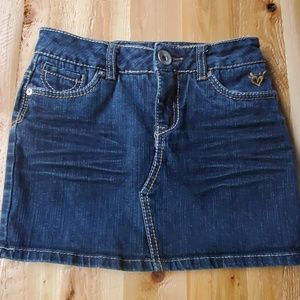 Justice Jean Denim Mini Skort sz 10s 🎀 Host pick